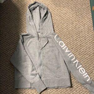 Calvin Klein cropped sweater